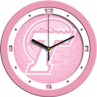 "Tulane Green Wave 12"" Wall Clock - Pink"