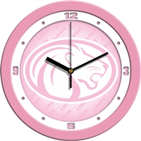 "North Alabama Lions UNA 12"" Wall Clock - Pink"
