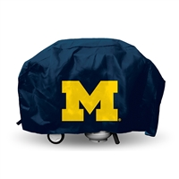 Michigan Wolverines NCAA Economy Barbeque Grill Cover
