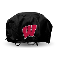 Wisconsin Badgers NCAA Economy Barbeque Grill Cover