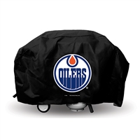 Edmonton Oilers NHL Economy Barbeque Grill Cover