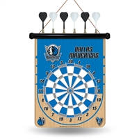 Dallas Mavericks NBA Magnetic Dart Board