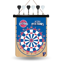 Detroit Pistons NBA Magnetic Dart Board