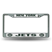 New york Jets NFL Chrome License Plate Frame