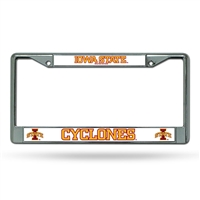 Iowa State Cyclones NCAA Chrome License Plate Frame