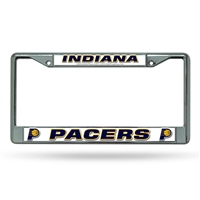 Indiana Pacers NBA Chrome License Plate Frame