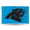 Carolina Panthers NFL 3in x 5in Banner Flag