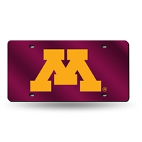Minnesota Golden Gophers NCAA Laser Cut License Plate Tag