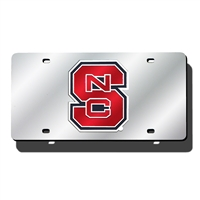 North Carolina State Wolfpack NCAA Laser Cut License Plate Cover