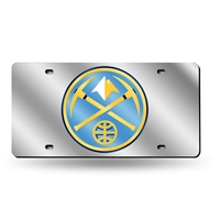 Denver Nuggets NBA Laser Cut License Plate Tag