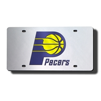 Indiana Pacers NBA Laser Cut License Plate Cover