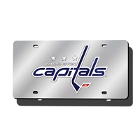 Washington Capitals NHL Laser Cut License Plate Cover