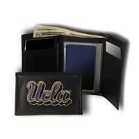 UCLA Bruins NCAA Embroidered Trifold Wallet