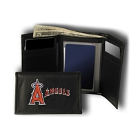 Los Angeles Angels MLB Embroidered Trifold Wallet