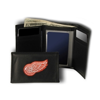 Detroit Red Wings NHL Embroidered Trifold Wallet