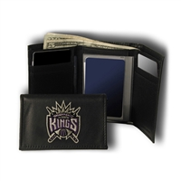 Sacramento Kings NBA Embroidered Trifold Wallet