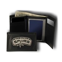 San Antonio Spurs NBA Embroidered Trifold Wallet