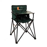 Miami Hurricanes NCAA Ultimate Travel Child High Chair