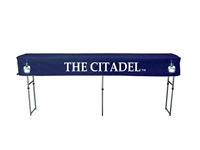 Citadel Bulldogs Fitted Canopy Table Cover