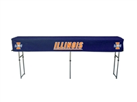 Illinois Fighting Illini Fitted Canopy Table Cover