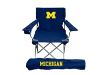 Michigan Wolverines Ultimate Tailgate Chair