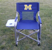 Michigan Wolverines Ultimate Director's Chair