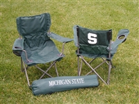 Michigan State Spartans Junior Ultimate Tailgate Chair