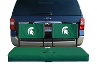 Michigan State Spartans Tailgate Hitch Seat Cover