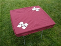 Mississippi State Bulldogs Card Table Cover