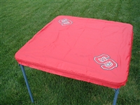North Carolina State Wolfpack Card Table Cover