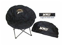 Western Michigan Broncos Round Chair