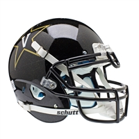 Vanderbilt Commodores NCAA Authentic Air XP Full Size Helmet (Alternate Black 2)