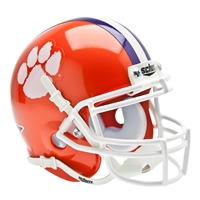 Clemson Tigers NCAA Authentic Mini 1/4 Size Helmet