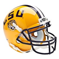 LSU Tigers NCAA Authentic Mini 1/4 Size Helmet