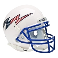 Air Force Falcons NCAA Authentic Mini 1/4 Size Helmet (Alternate White 2)