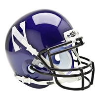 Northwestern Wildcats NCAA Authentic Mini 1/4 Size Helmet