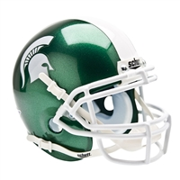 Michigan State Spartans NCAA Authentic Mini 1/4 Size Helmet