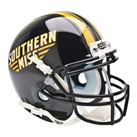 Southern Mississippi Eagles NCAA Authentic Mini 1/4 Size Helmet