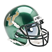 South Florida Bulls NCAA Authentic Mini 1/4 Size Helmet (Alternate Green 1)