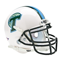 Tulane Green Wave NCAA Authentic Mini 1/4 Size Helmet