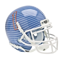 Tulsa Golden Hurricane NCAA Authentic Mini 1/4 Size Helmet (Alternate Carbon Fiber 1)