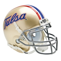 Tulsa Golden Hurricane NCAA Authentic Mini 1/4 Size Helmet