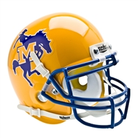 McNeese State Cowboys NCAA Authentic Mini 1/4 Size Helmet