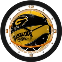 "Grambling Tigers Slam Dunk 12"" Wall Clock"