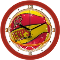 "Maryland Terrapins Slam Dunk 12"" Wall Clock"