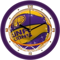 "North Alabama Lions UNA Slam Dunk 12"" Wall Clock"