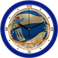 "Tulsa Golden Hurricane Slam Dunk 12"" Wall Clock"