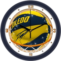 "Toledo Rockets Slam Dunk 12"" Wall Clock"