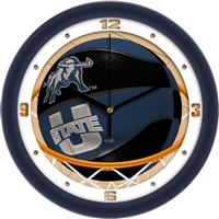 "Utah State Aggies Slam Dunk 12"" Wall Clock"