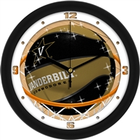 "Vanderbilt Commodores Slam Dunk 12"" Wall Clock"
